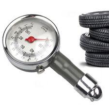 0-100 PSI Car Truck Auto Car Tyre Tire Air Pressure Gauge Dial Meter Tester New