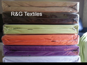 Single bed fitted sheet 100% cotton jersey knit 2 fitted sheets