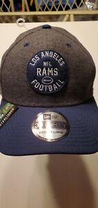 Los Angeles Rams NFL New Era Established 1937 39thirty stretch-fit hat M/L