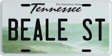 Beale Street Memphis Tennessee Aluminum License Plate
