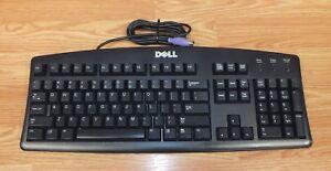 Genuine Dell (SK-8110) Black PS/2 Wired Standard Desktop Computer Keyboard Only