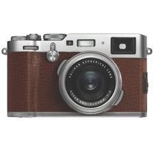 A - Fuji Fujifilm X100F Professional Digital Compact Camera Brown