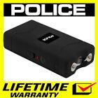 POLICE Stun Gun 800 380 BV Mini Rechargeable With LED Flashlight - Black <br/> 380 Billion Stun Gun + FREE Case + Lifetime Warranty