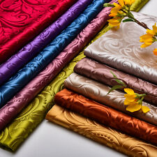 Velvet Embossing Floral Fabric Cloth Classic Thick Tablecloth Sofa Cushion Cover