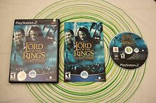THE LORD OF THE RINGS THE TWO TOWERS Ps2 ntsc USA