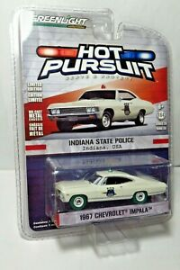 Greenlight 1967 Chevrolet Impala Indiana State Police Hot Pursuit Green Machine