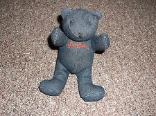 "Sean John promo denim bear, approx. 6"" tall"