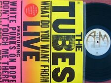Tubes ORIG OZ 2LP What do you want from live EX '78 Hard Rock New wave
