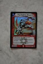 Duel Masters - Pyrofighter Magnus - Englisch - Holo Karte