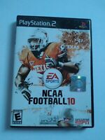 NCAA Football 10 Sony PlayStation 2, 2009 TESTED & COMPLETE