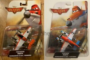 DISNEY PLANES 2 - FIREFIGHTER or PONTOON DUSTY BOMBERO - KIDS TOY NEW