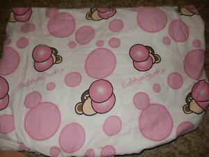 9J BOBBY JACK Monkey Bubble Gum FULL/Double Fitted Bed Sheet {Fabric}