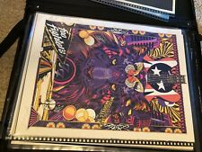 Foo Fighters Tyler Stout signed & numbered poster Nashville