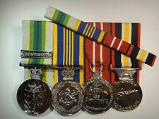 Defence Long Service And Australian Defence Ribbon Bar
