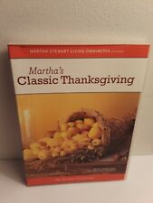 Martha Stewart Holidays: Classic Thanksgiving (DVD, 2005)