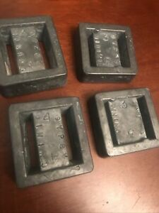 2-3lb & 2-4lb  Lead Dive Weights GREAT FOR SCUBA DIVING 14lb Total Gypsy Mining