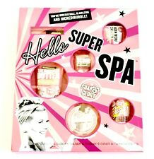 SOAP & GLORY Hello SuperSpa GIFT SET 7 Full Sz Items NEW w BOX SAME DAY SHIPPING