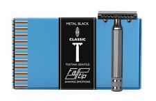 Fatip Gentile Black Nickel Safety Razor 42123