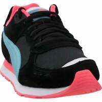 Puma Vista Metallic Lace Up  Womens  Sneakers Shoes Casual   - Black