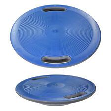 Balance Board Fitness Kreisel Wackelbrett Therapiekreisel mit Griffen 40cm Blau