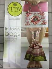 Amy Butler In Town Bags Sewing Pattern New, Uncut