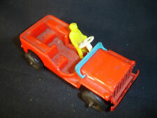 Old Vtg Antique Collectible Plastic Thomas Toy Truck With Driver