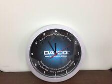 Dayco American Automotive Parts Wall Clock Auto Shop Clock Man Cave clock