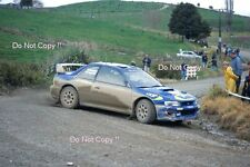 Kenneth Eriksson Subaru Impreza WRC 97 New Zealand Rally 1997 Photograph 3