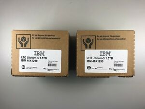 Brand New- (10 PACK) IBM LTO 5 46X1290 / 3.0TB Storage Data Tape Cartridge