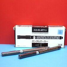 Mr. Hobby Gundam Marker Pen [Soft chip type] 2 Pcs Set #GM20-21 GUNZE GUNPLA