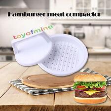 Nouveau plastique à burger hamburger viande boeuf grill maker cuisine moule