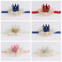 Kids Baby Girl Toddler Lace Crown Hair Band Headwear Headband Accessories