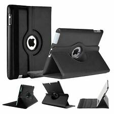 Case For Apple iPad 9th Generation 2021,PU Leather,Rotating Stan Cover 10.2-inch
