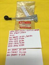 NEW OEM SUZUKI Clutch Lever (57621-27210) TS90/TC90/TS50/RV90/T125/AC50 AHRMA