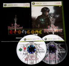 THE LAST REMNANT XBOX 360 Versione Italiana 1ª Edizione ••••• COMPLETO