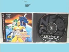 KING OF THE MONSTERS 2                   -----   pour NEO GEO CD  / JAP.