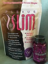Plexus Slim - 30 PINK DRINK Weight Loss Packets with Accelerator+