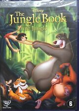 The Jungle Book - Disney - Le Livre Jungle - DVD - NEW