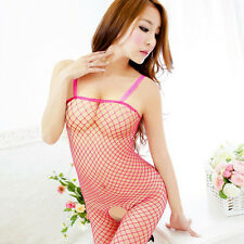 Sexy Women Fishnet Body Stocking Lady Toys Bodysuit Nightwear Babydoll Lingerie