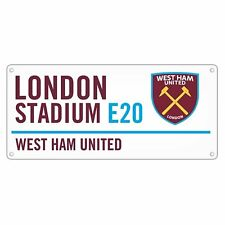 West Ham Street Sign New Sport Football Gift Home Pub Garage Birthday