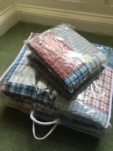 Brand New Cotton Double/King Quilt With 2 Pillowcases