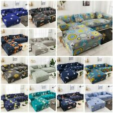 Printed Slipcover Sofa Covers Tartan Stretch Couch Cover Furniture Protector