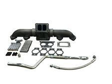 Complete New Aftermarket Exhaust For ISX 570 With T6 Flange.  ISX T6 Manifold