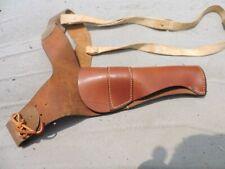 Vintage Brauer Brothers shoulder holster belt leather 20044 38C bullet holder
