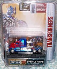 2018 Jada Toys Transformers Optimus Prime Diecast 1-64 scale 8+ China