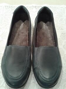 Orthaheel Maddie Womens Navy Blue Loafers Size 8.5/39.5