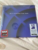 "U2 '11 O'CLOCK TICK TOCK' 4 TRACK 12"" EP ON COLOURED VINYL RSD20 New & Sealed"
