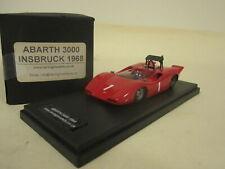 Gamma / Racing Models 1:43 1968 Abarth 3000 SE011 Innsbruck 1968 RN 1 MINT BOXED