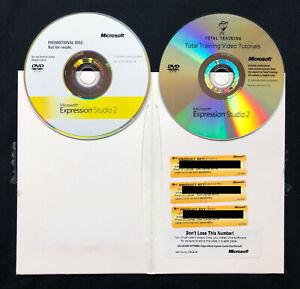 Microsoft Expression Studio 2  MAC/WIN ENGLISH  PJS-00717