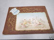 calendrier 1899 AU PLANTEUR EPICERIE L PICHOT VILLERS COTTERETS  *